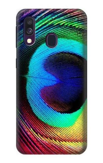 S0511 Peacock Case For Samsung Galaxy A40