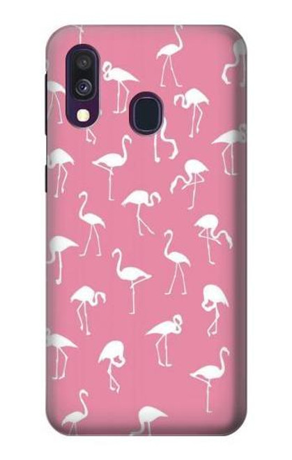 S2858 Pink Flamingo Pattern Case For Samsung Galaxy A40