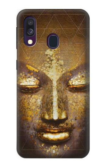 S3189 Magical Yantra Buddha Face Case For Samsung Galaxy A40