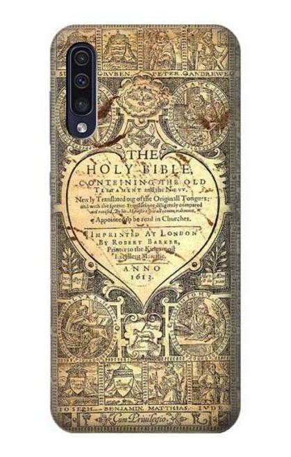 S0330 Bible Page Case For Samsung Galaxy A50