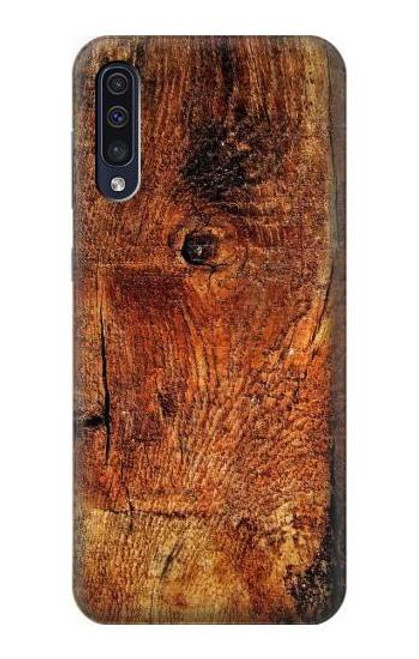 S1140 Wood Skin Graphic Case For Samsung Galaxy A50