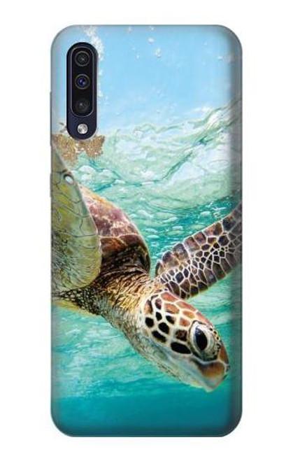 S1377 Ocean Sea Turtle Case For Samsung Galaxy A50