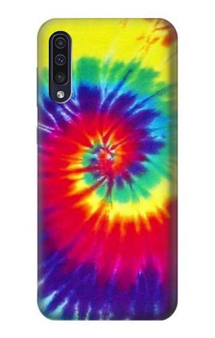 S2884 Tie Dye Swirl Color Case For Samsung Galaxy A50