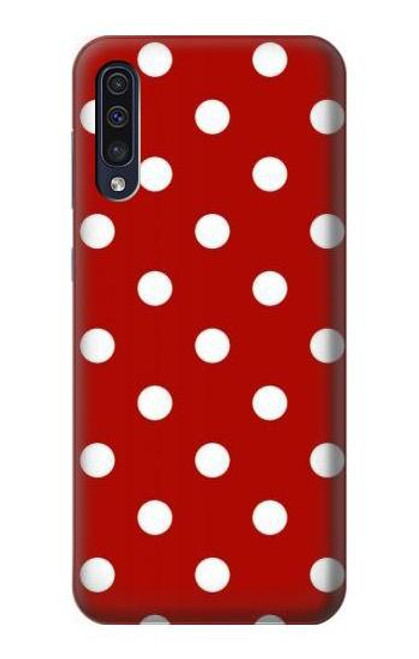 S2951 Red Polka Dots Case For Samsung Galaxy A50