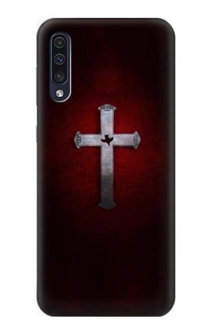 S3160 Christian Cross Case For Samsung Galaxy A50