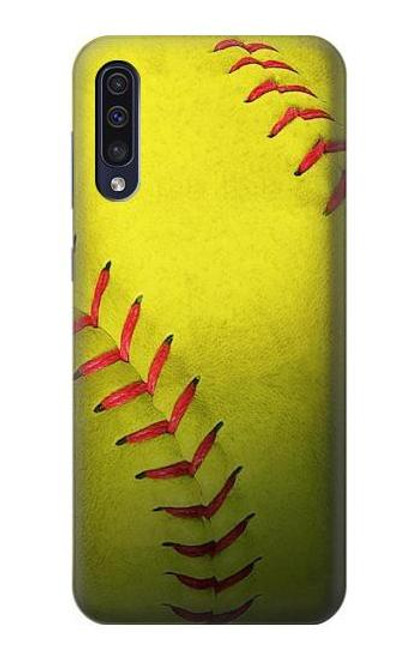 S3031 Yellow Softball Ball Case For Samsung Galaxy A70
