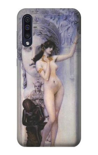 S3353 Gustav Klimt Allegory of Sculpture Case For Samsung Galaxy A70