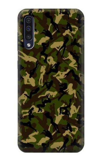 S3356 Sexy Girls Camo Camouflage Case For Samsung Galaxy A70