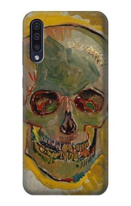 S3359 Vincent Van Gogh Skull Case For Samsung Galaxy A70