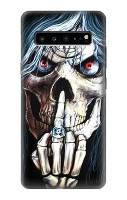 S0222 Skull Pentagram Case For Samsung Galaxy S10 5G