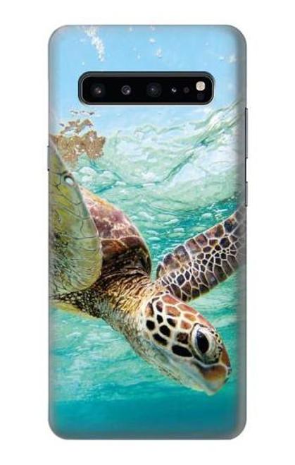 S1377 Ocean Sea Turtle Case For Samsung Galaxy S10 5G