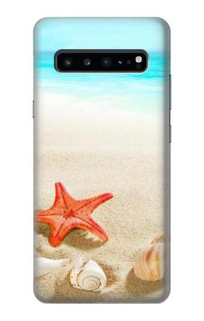 S3212 Sea Shells Starfish Beach Case For Samsung Galaxy S10 5G