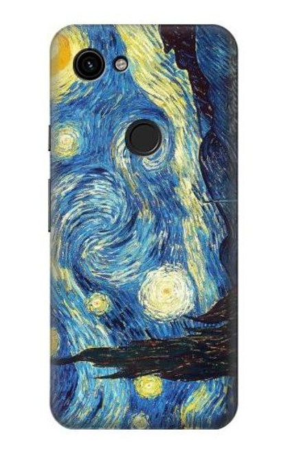 S0213 Van Gogh Starry Nights Case For Google Pixel 3a