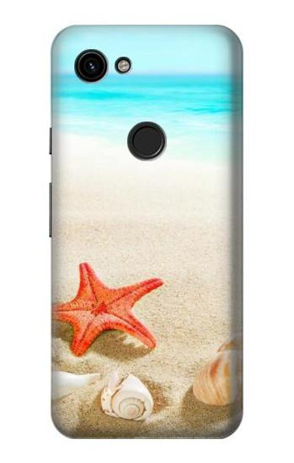 S3212 Sea Shells Starfish Beach Case For Google Pixel 3a