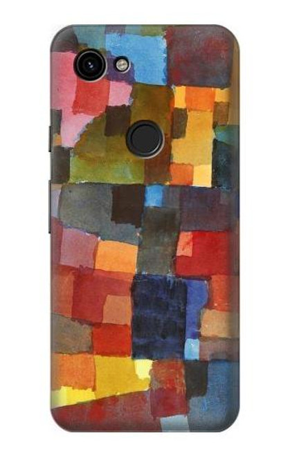 S3341 Paul Klee Raumarchitekturen Case For Google Pixel 3a