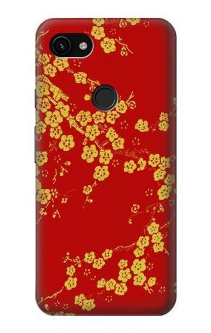 S2050 Cherry Blossoms Chinese Graphic Printed Case For Google Pixel 3a XL