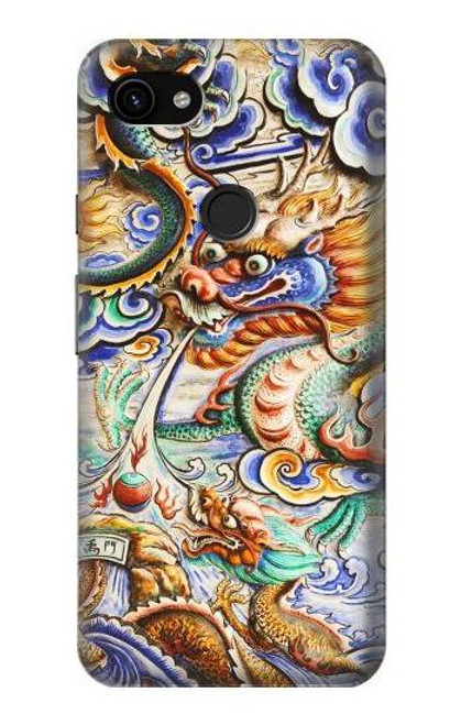 S2584 Traditional Chinese Dragon Art Case For Google Pixel 3a XL