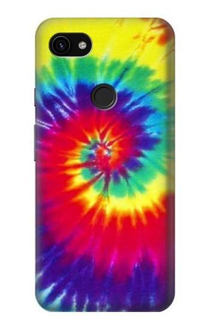 S2884 Tie Dye Swirl Color Case For Google Pixel 3a XL