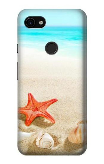 S3212 Sea Shells Starfish Beach Case For Google Pixel 3a XL