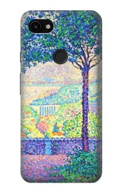 S3349 Paul Signac Terrace of Meudon Case For Google Pixel 3a XL