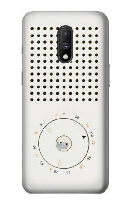 S1857 Retro Transistor Radio Case For OnePlus 7