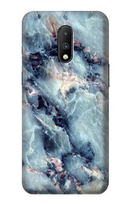 S2689 Blue Marble Texture Graphic Printed Case For OnePlus 7