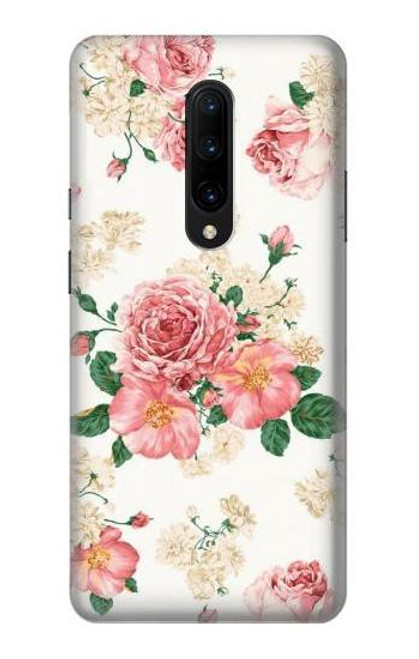 S1859 Rose Pattern Case For OnePlus 7 Pro