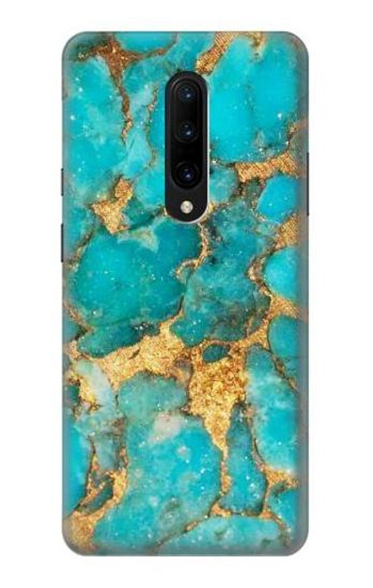 S2906 Aqua Turquoise Stone Case For OnePlus 7 Pro