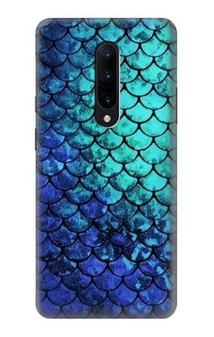 S3047 Green Mermaid Fish Scale Case For OnePlus 7 Pro