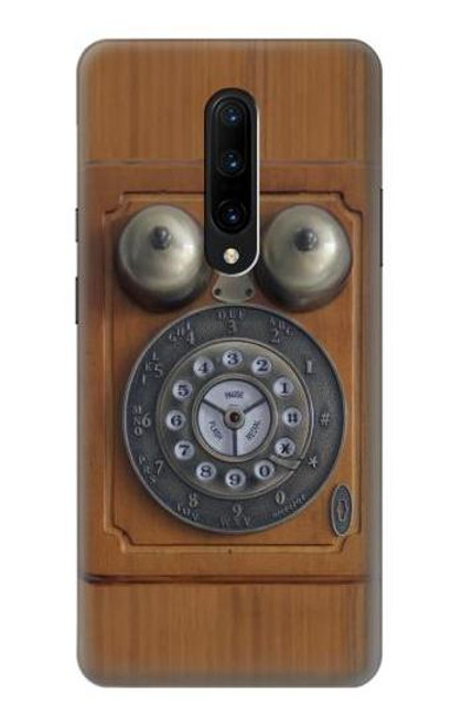 S3146 Antique Wall Retro Dial Phone Case For OnePlus 7 Pro