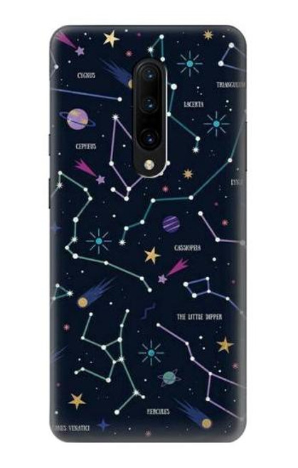 S3220 Star Map Zodiac Constellations Case For OnePlus 7 Pro
