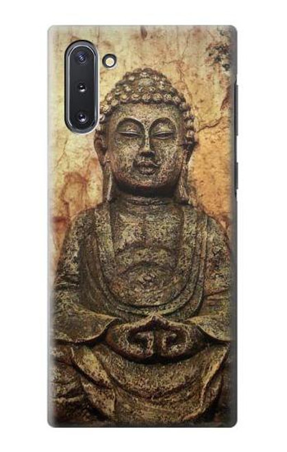 S0344 Buddha Rock Carving Case For Samsung Galaxy Note 10