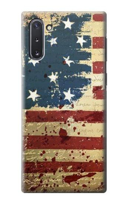 S2349 Old American Flag Case For Samsung Galaxy Note 10