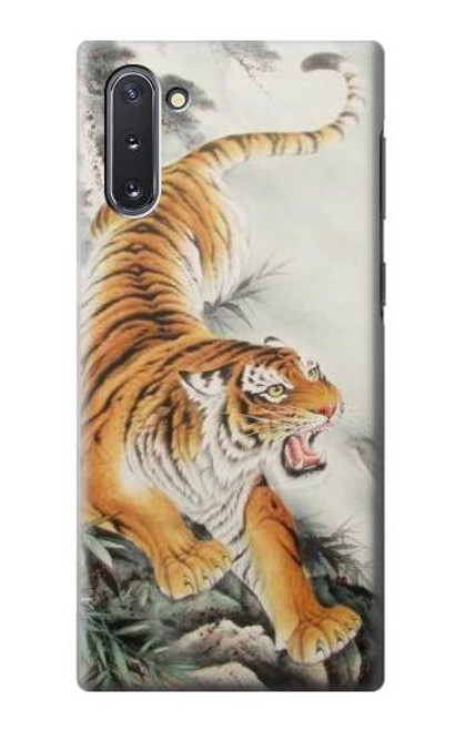 S2751 Chinese Tiger Brush Painting Case For Samsung Galaxy Note 10
