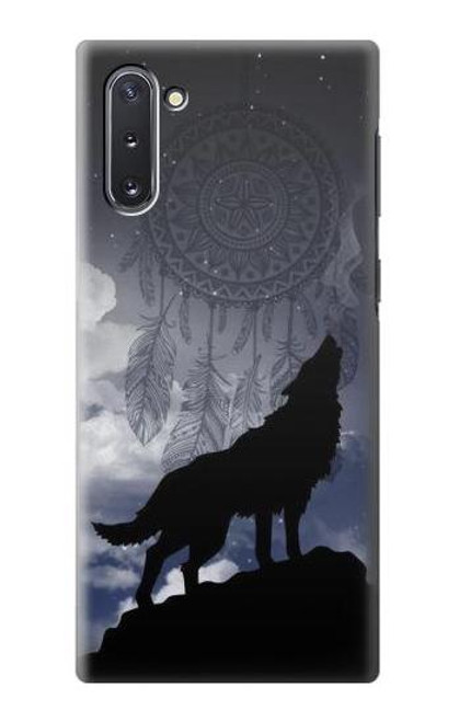 S3011 Dream Catcher Wolf Howling Case For Samsung Galaxy Note 10