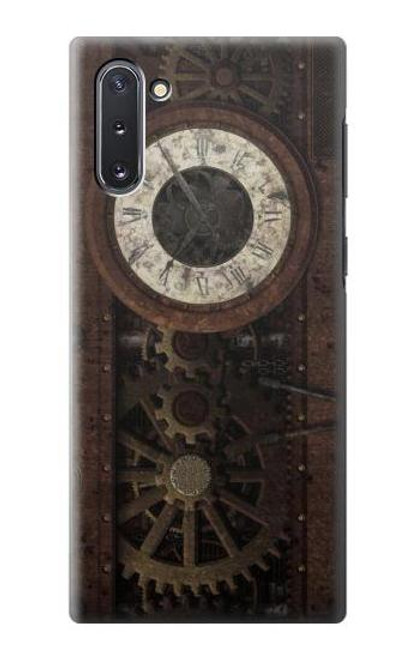 S3221 Steampunk Clock Gears Case For Samsung Galaxy Note 10