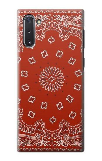 S3355 Bandana Red Pattern Case For Samsung Galaxy Note 10
