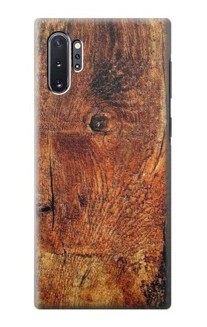 S1140 Wood Skin Graphic Case For Samsung Galaxy Note 10 Plus