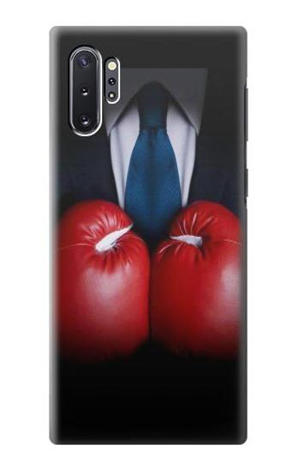 S2261 Businessman Black Suit With Boxing Gloves Case For Samsung Galaxy Note 10 Plus
