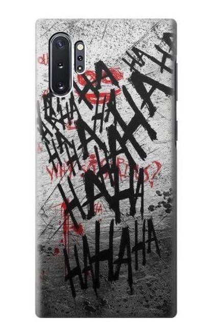 S3073 Joker Hahaha Blood Splash Case For Samsung Galaxy Note 10 Plus