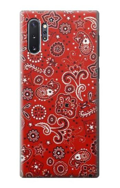S3354 Red Classic Bandana Case For Samsung Galaxy Note 10 Plus