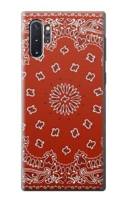 S3355 Bandana Red Pattern Case For Samsung Galaxy Note 10 Plus