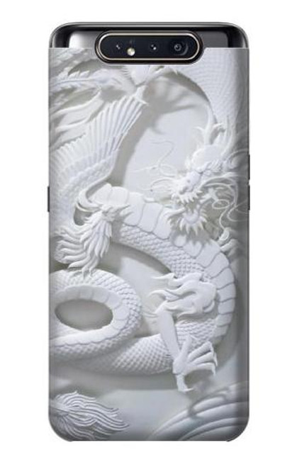 S0386 Dragon Carving Case For Samsung Galaxy A80