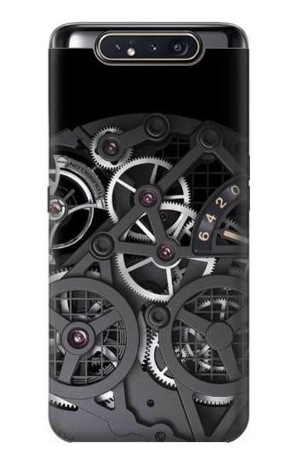 S3176 Inside Watch Black Case For Samsung Galaxy A80