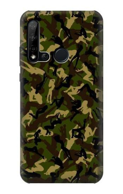 S3356 Sexy Girls Camo Camouflage Case For Huawei P20 lite (2019)