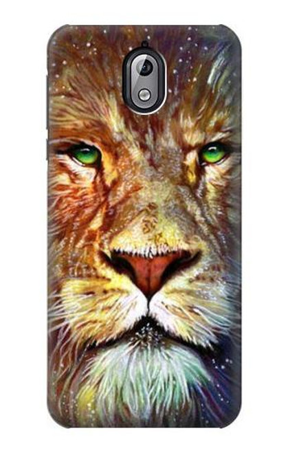 S1354 Lion Case For Nokia 3.1