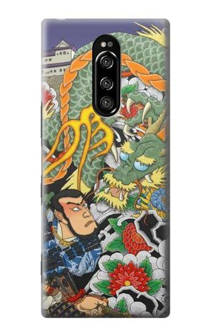 S0454 Japan Tattoo Case For Sony Xperia 1