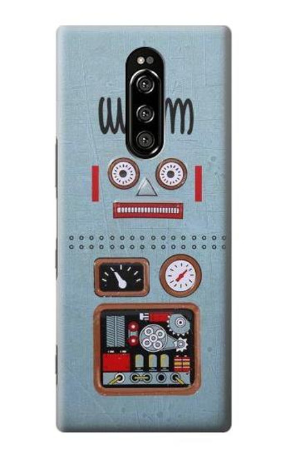 S3040 Retro Robot Toy Case For Sony Xperia 1