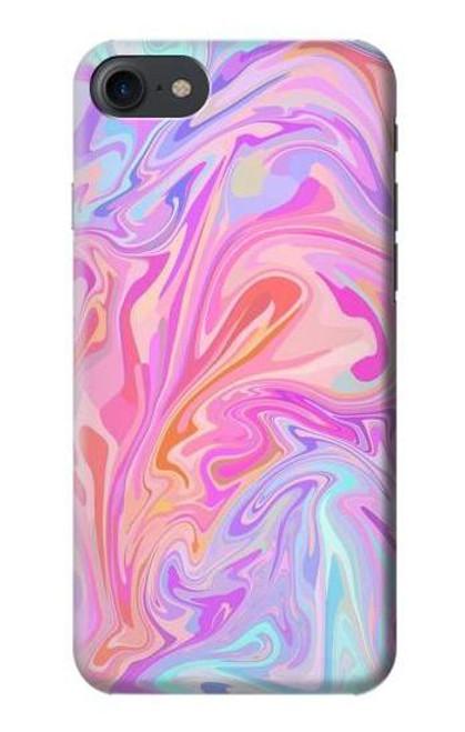 S3444 Digital Art Colorful Liquid Case For iPhone 7, iPhone 8