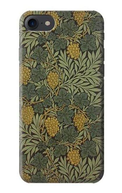S3662 William Morris Vine Pattern Case For iPhone 7, iPhone 8